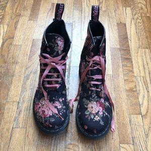 Floral Dr. Martens Boots